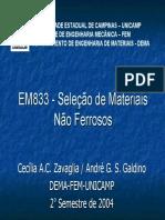 EM833 - seleção de materiais não ferrosos.pdf
