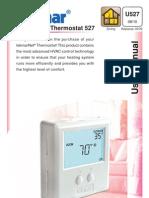 Tekmar 527 One Stage Heat tN2 Thermostat