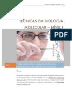 Apostila Técnicas Em Biologia Molecular Nível 1 1