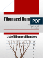 Examples of Fibonacci Numbers