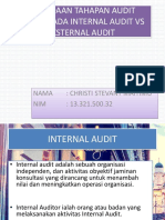 Tugas Ppt Internal Audit Perbedaan Tahap