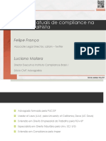 Aspectos atuais de compliance na área trabalhista