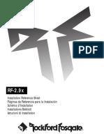 Rockford Fosgate 2.9x Amps