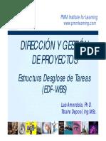 [03] WBS Planificación