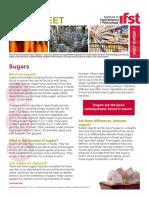 Fact Sheet - Sugars