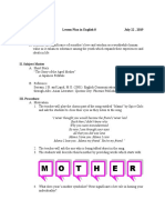 49185956 Lesson Plan for Final Demonstration Teaching 190804141838