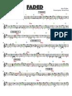 Faded main melody
