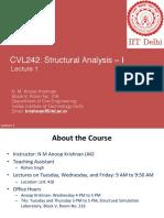 Structural Analysis Basics