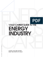 Career guide to Energy Industry
