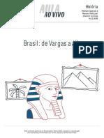 Aulaaovivo Historia Brasil de Vargas a Jk 14-12-16