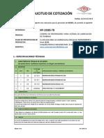 Solic Cotizacion Np-19385-Tb