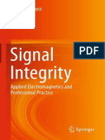 Signal Integrity_ Applied Electromagnetics and Professional Practice ( PDFDrive.com )