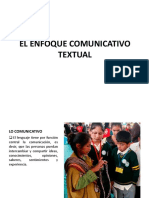 PPT Enfoq Comunicativo y Textual