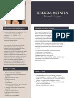 CV Brenda Astaiza