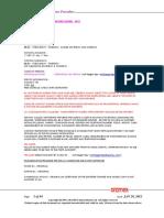 Ocean Freight Operations Procedure 2012