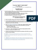 BSFF Quick Sheet 2