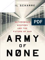Paul Scharre - Army of None_ Autonomous Weapons and the Future of War-W. W. Norton & Co. (2018)