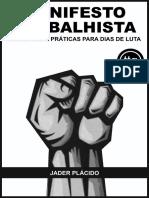 Manifesto Trabalhista - Práticas Para Dias De Luta