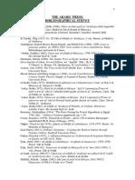 Arabic Press 19thc Resources