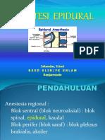 Presentasi Epidural Ujian.ppt