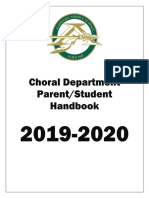 albright choir handbook 2019-2020