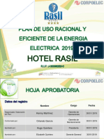 Plan de Ahorro 2019 Hotel Rasil.
