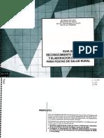 Guia de Reconocimiento Geografico y Elaboracion de Croquis Para Postas de Salud Rural