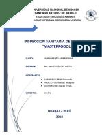 Diagnostico de Piscina Masterpool - Saneamiento Ambiental II