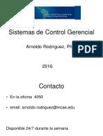 Sistema de Control Gerencial