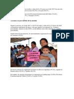 Desnutricion en El Peru