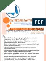 Automatic door pintu otomatis sliding