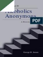 Storytelling y Alcoholismo