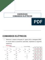Exercícios Comandos Elétricos