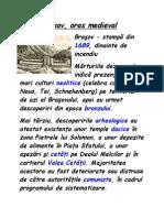 Brasov Oras Medieval