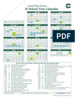 2019-20 CPS Calendar SC Approved 190328