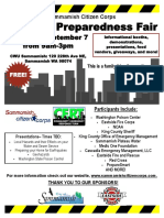 2019 Sammamish Disaster Prep Fair