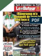 LE BUTEUR PDF du 13/11/2010