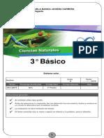 Evaluación Cnaturales 3 a Y B
