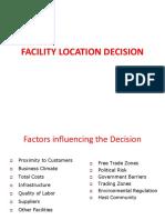 Facilitiy Process and Planning