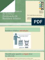 Saneamento II_Sistemas Urbanos de Resíduos Sólidos