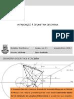 Arq013_introdução a Geometria Descritiva