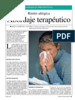 Rinitis Alergica Abordaje Terapeutico