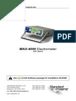 Max 4000 User Manual