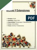 Archivo y Extencion