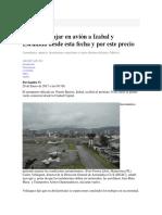 Ipc, Canasta Basica y Noticia Economica