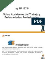 Ley 16744 Sobre Accidentes Del Trabajo y Enfermedades Profesionales