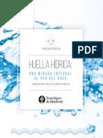 Aplicación de La Huella Hídrica
