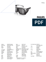 Philips PTA516/00 Manual