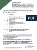 WWW Sponsorship Form 2018