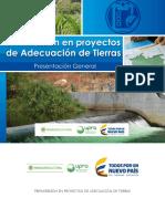 Preinversión en Proyectos de Adecuación de Tierras